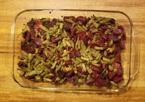 Beans Beets roasted 40 min