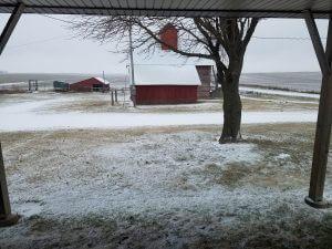 winter last hurrah 2018 front yard