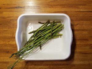 asparagus in tub