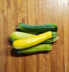 4 zucchini